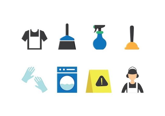 Free Maid Icon Set - Free vector #418403