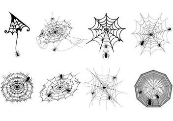 Free Spider Web Vector - Free vector #418933