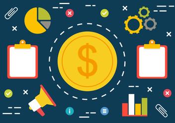 Free Digital Marketing Vector Illustration - Kostenloses vector #419513