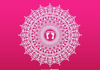 Free Lakshmi Vector Rangoli - Free vector #419833