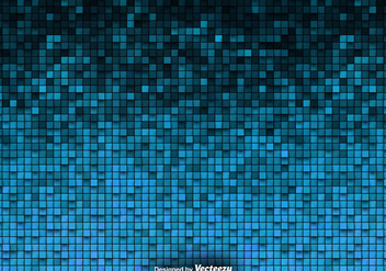 Tiled Background Vector Blue Tiles - Kostenloses vector #419953