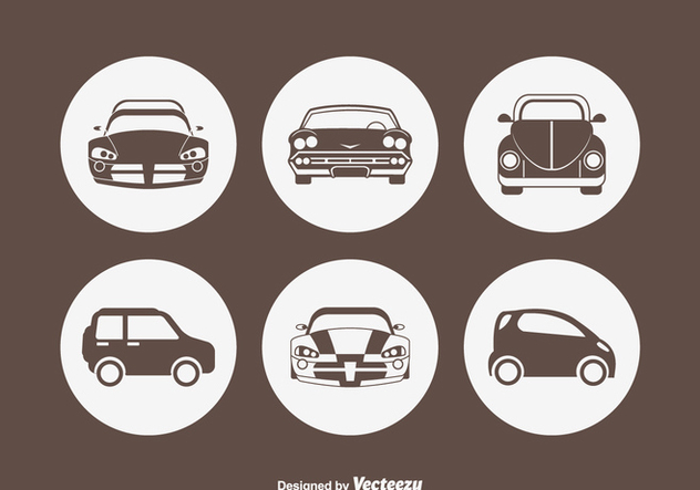 Free Car Silhouette Vector Icons - Kostenloses vector #420223
