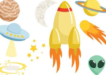 Free Space Vectors - бесплатный vector #420233