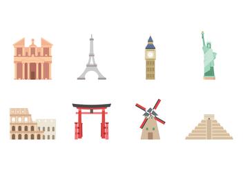 Free Landmark Icons - Kostenloses vector #420263