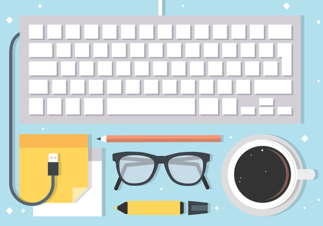 Free Business Workspace Vector Elements - Free vector #420473