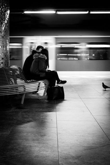 <3 on a train track - бесплатный image #420613