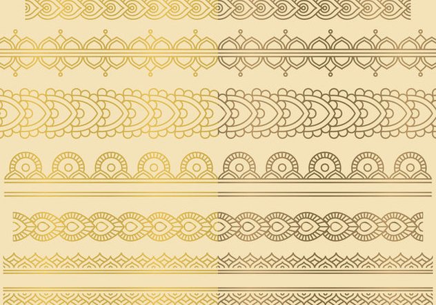 Indian Ornaments - Free vector #420883