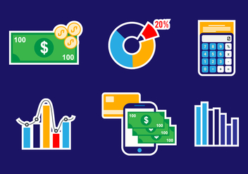 Business Icon Vector Set - Free vector #421003