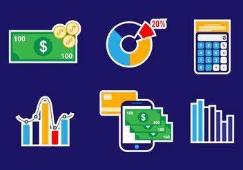 Business Icon Vector Set - Kostenloses vector #421003