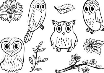 Free Owl 2 Vectors - Free vector #421063
