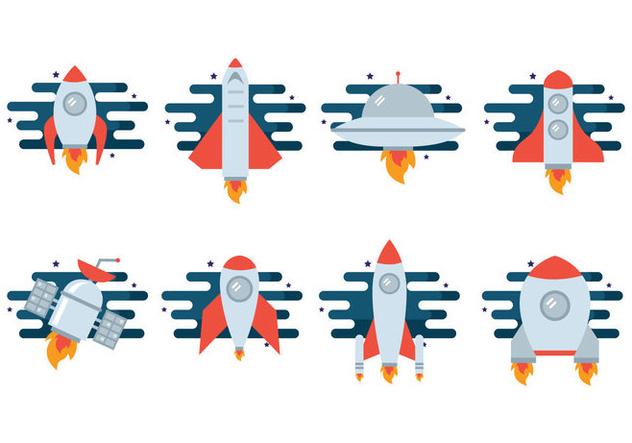 Free Starship Vector - бесплатный vector #421203