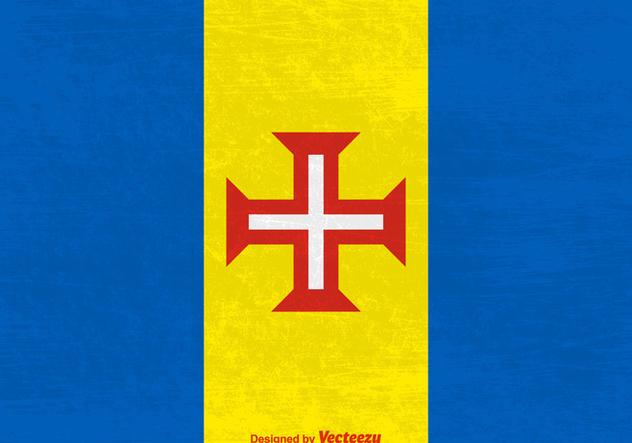 Madeira Vector Grunge Flag - Free vector #421333