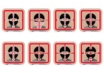 Headshot Vector Icon - Free vector #421363