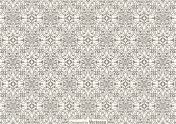 Ornamental Seamless Pattern - Free vector #421433