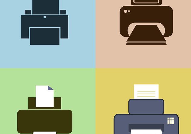 Fax Icon Vectors - Kostenloses vector #421543