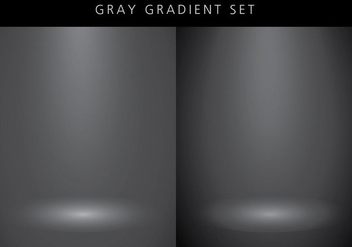 Grey Gradient Spot Light Background - vector #422423 gratis