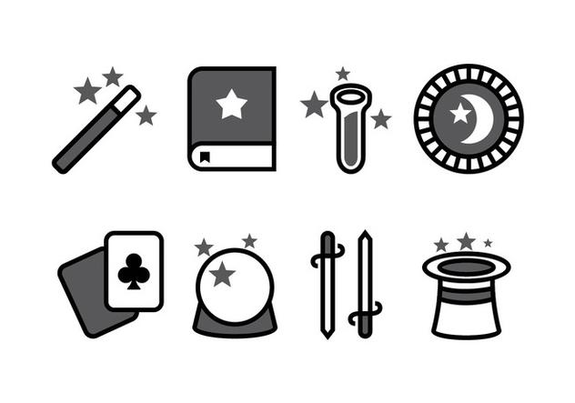 Magic Icon Set - vector #422433 gratis