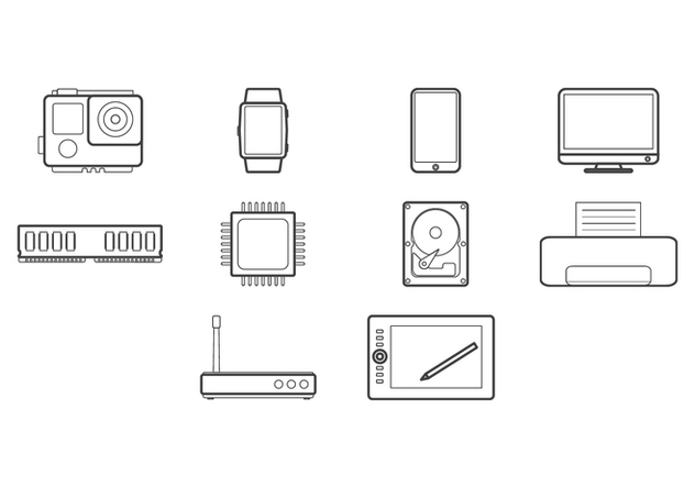 Free Technology Icon - Free vector #422633