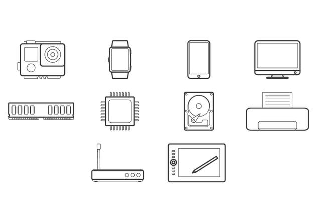 Free Technology Icon - vector #422633 gratis