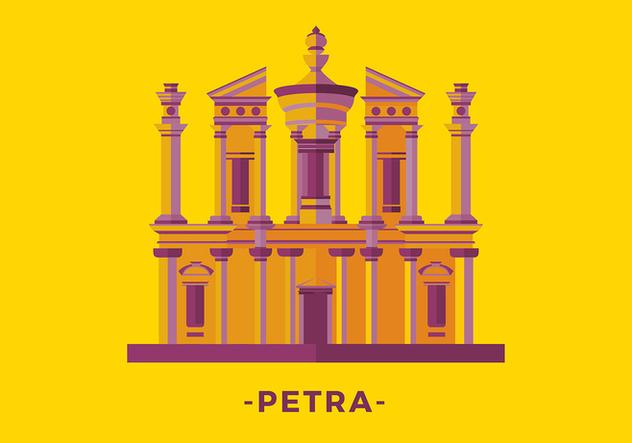 Petra Flat Free Vector - vector #422643 gratis