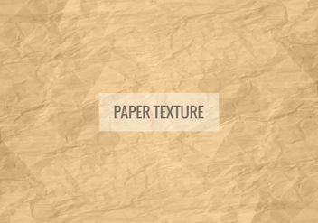 Free Vector Paper Texture Background - Kostenloses vector #423053
