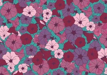 Petunia Flowers Vector - Kostenloses vector #423253