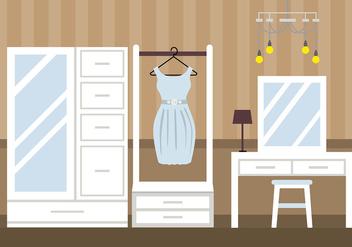 Dressing Room Classic Vector - Free vector #423383