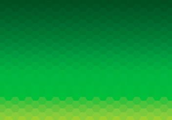Green Hexagon Background Daun Vector - Kostenloses vector #423483