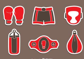 Great Boxing Element Vectors - vector #423503 gratis