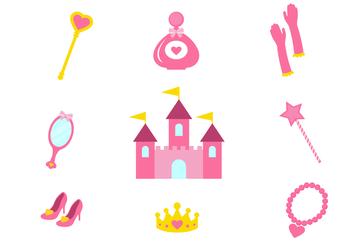Free Princess Vector Icons - бесплатный vector #425713