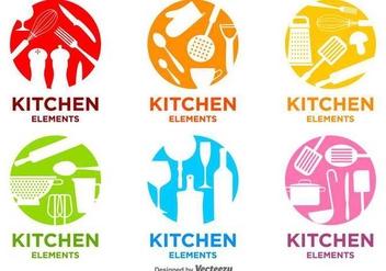 Bright Kitchen Vector Logos - Kostenloses vector #426503
