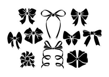 Free Hair Ribbon Vector - vector gratuit #426663