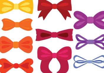 Free Colorful Ribbons Vectors - vector #426933 gratis