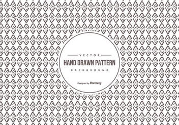 Hand Drawn Background Pattern - Free vector #427603