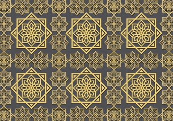Islamic Ornament Seamless Pattern - Free vector #427613