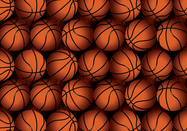 Vector Basketball Texture - vector gratuit #427833