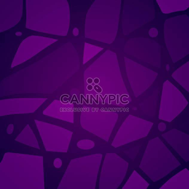 Vector illustration of art purple mosaic background - Free vector #125783