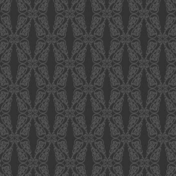 Vector vintage art background with seamless floral pattern - vector gratuit #126803