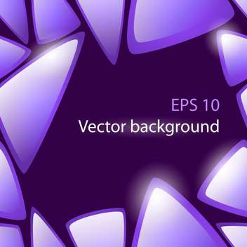 Vector abstract purple background with triangles - vector gratuit #127293
