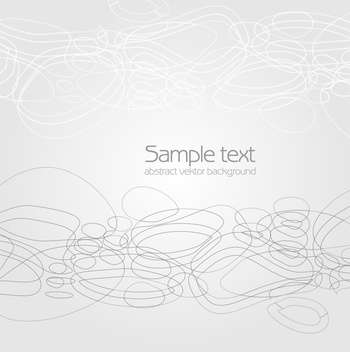 Vector abstract white background with text place - vector #127523 gratis