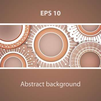 Abstract vector background with place for text - vector gratuit #128333