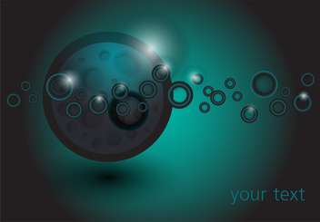 Space abstract vector background - vector gratuit #128713