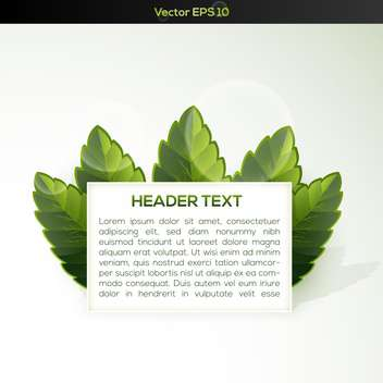 Vector banner with some green grass - vector #128773 gratis