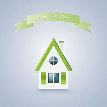 home sweet home vector illustration - vector gratuit #129153