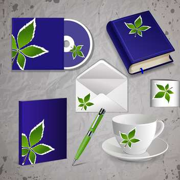 corporate identity kit vector set - vector #130483 gratis