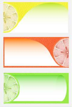 Citrus background vector illustration - vector gratuit #130993