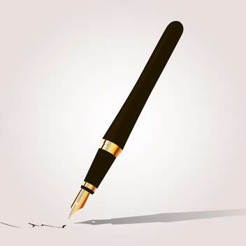 Fountain pen vector illustration - vector gratuit #131283