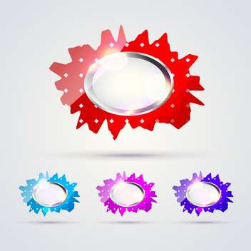 Vector web buttons illustration - vector gratuit #131613
