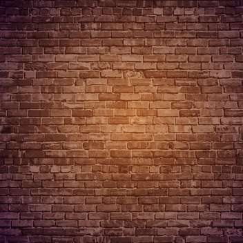 Vector brick wall background - бесплатный vector #131793