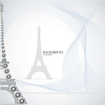 eiffel tower made of webcams - vector #133083 gratis